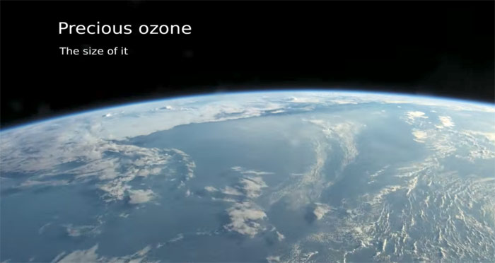Precious Ozone - The Size of it
