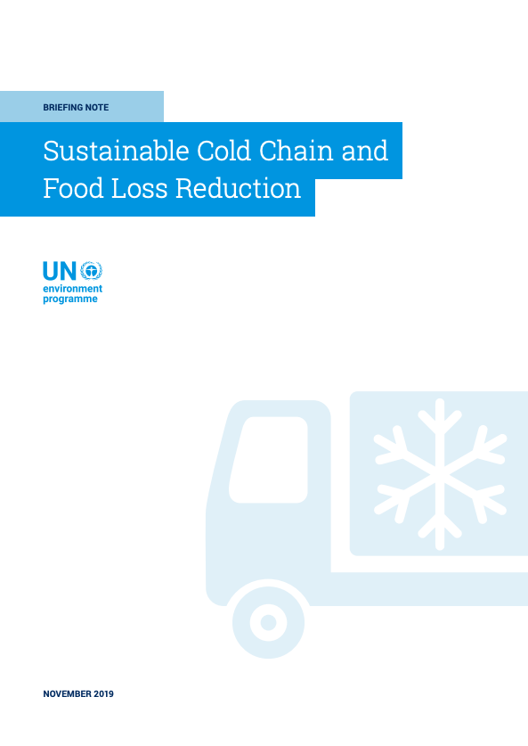 Sustainable Cold Chain and Food Loss Reduction