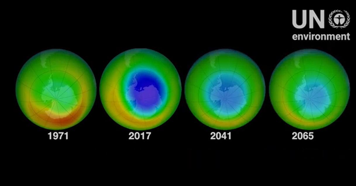 World Ozone Day 2019 - 32 years and healing